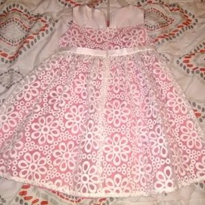 Cream and Peach Gymboree dress size2t